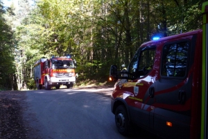 12. Oktober 2019 - Waldbrandübung (Alarmübung)