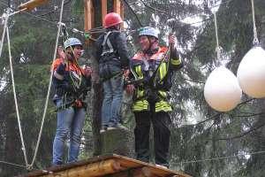 """18. Mai 2013 - Besuch """"Kletterwald Wasserkuppe"""""""
